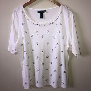 🌺 Women's KAREN SCOTT short sleeve top